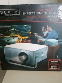 Black Series Portable entertainment projector box Montreal, H1S 0A6
