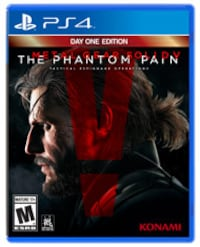 The Phantom Pain PS4 game case THORNHILL