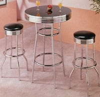 6 in box Bar stool set (1 table, 2 high stools per box.  Rockville, 20852
