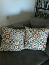 white, brown, and green throw pillow Portsmouth, 23702