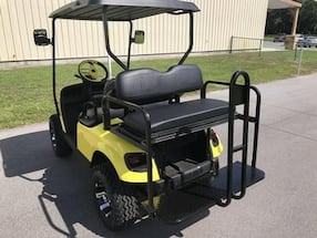 MANUFACTURED IN 2015- 4-SEATER FREED0M GAS GOLF CART