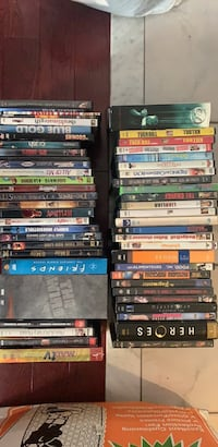 Used DVD's and a three vhs movies. All for $60 Brampton, L7A 1G6