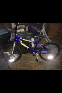 Blue and black bmx bike brand new with tags never even been ride way to big for my son who is 5 Albany, 42602