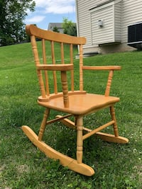 Child rocking chair in woodvery sturdy  Pikesville, 21208