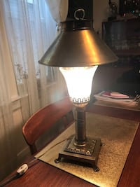 black and brown table lamp Toronto, M4L 2S1