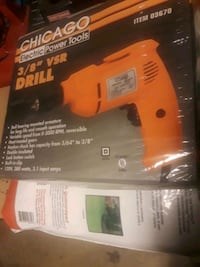 NEW Chicago 3/8 inch VSR Power Tool