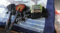 Black xbox 360 console with controller and game cases Los Angeles, 91331