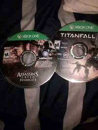 two Xbox One game discs West Columbia, 29172