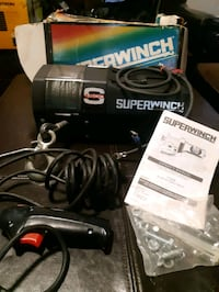Winch for truck or side by side ATV. Brand new in box never installed Brantford, N3T 3E4