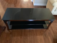 Glass Wood TV Stand  Vaughan, L4H 2N4
