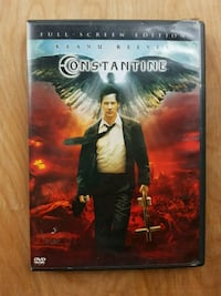 Constantine 2005 DVD widescreen - like new Airdrie, T4B 0E4