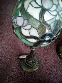 Like Tiffany stained Glass lamp