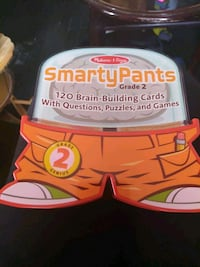 Learning smarty pants cards 2nd grade