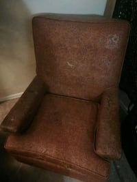 Antique worked leather rocking chair Colorado Springs, 80916