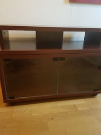 brunt tre TV-rack Tønsberg, 3170