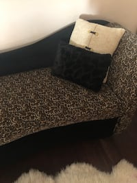 black and brown leopard print textile London, N5Z 5B9