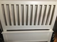 Full sized wood bed frame(entire bed frame) OBO  Hanover