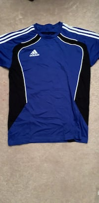 Blue and black adidas shirt Surrey, V3R