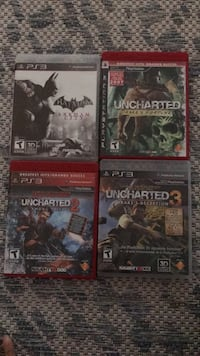 PS3 games  3740 km