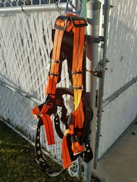 Fall arrest and work positioning harness Red Deer, T4R 2N9
