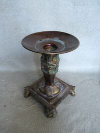 Vintage candle stand