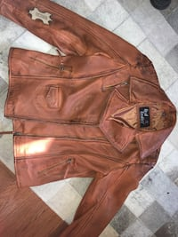 BNWT LEATHER JACKET