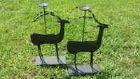 Iron Reindeer Candle Holders Statham, 30666