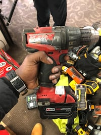 Milwaukee hammer drill W/ Battery & Charger!! Negotiable Baltimore, 21217