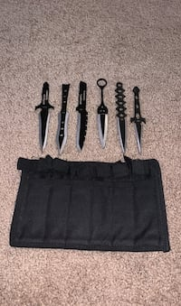 Throwing knives set- knife