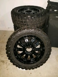 4 rims and tires  Fountain Valley, 92708