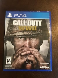 Call of duty WWII ps4 game Rogers, 72758