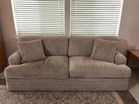 "Green Couch, Comfortable - 84"" length x 38"" width x 35"" height Union City, 94587"