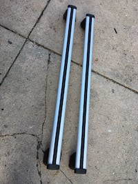 Audi Q5 cross bars oem fits 2013-2017