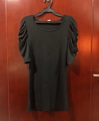 itim na scoop neck long sleeve dress Makati City, 1223