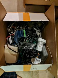Random box of cables and electronics Gaithersburg, 20886