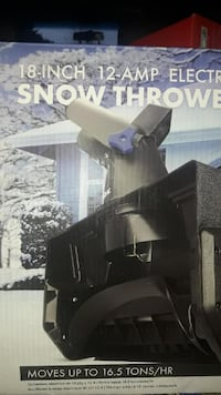 "Brand New In box Brand New in box Snow Joe 18"" 12 amp electric snow thrower. Toronto"