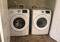 White washer and dryer set Greensboro, 27405