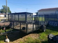 black and brown utility trailer Tampa, 33607