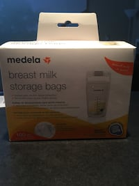 Medela breast milk storage bags  Ottawa, K1C