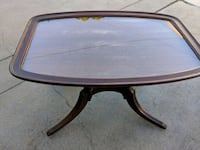 oval brown wooden pedestal table San Diego, 92103