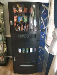 Vending Machine half snacks half beverages!