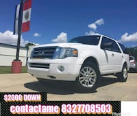 Ford - Expedition - 2014 $2000 DOWN PAYMENT Houston