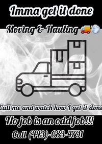Hauling and trash removal services  Baltimore