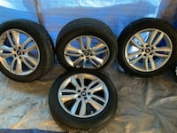 4 Continental Cross Contact Tires & Rims Hollywood, 29449