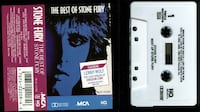The Best of Stone Fury cassette MCA Records Oklahoma City