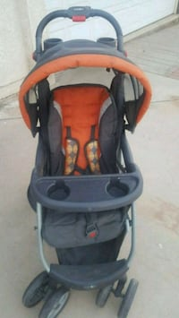 baby's black and red stroller Hesperia, 92344