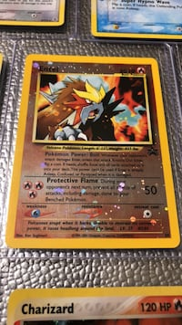 rare Entei pokemon card Manassas, 20111