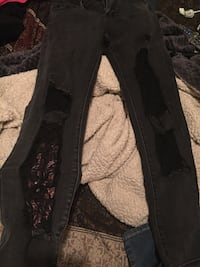Black distressed jeans Leonardtown, 20650