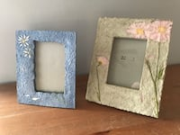 (2) Stone Floral Frames Hagerstown, 21742