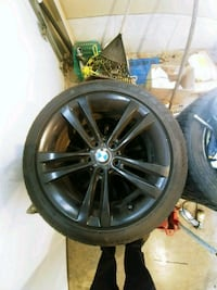 Bmw rims and tires Brantford, N3P 2A5